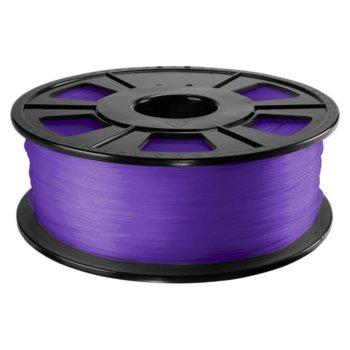 Консуматив за 3D принтер Acccreate 01.04.12.1213, ABS Pro, 2.85 mm, лилав, 1kg image