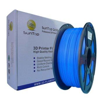 Консуматив за 3D принтер, PLA, 1.75mm, син, 1kg image