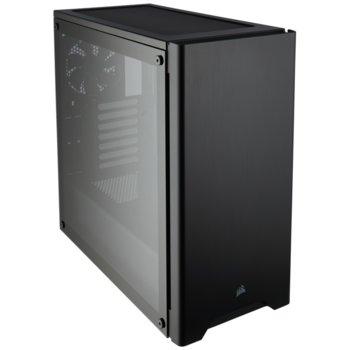 Кутия Corsair Carbide Series 275R (CC-9011132-WW), ATX, 2x USB 3.0, 2x 3.5mm жак, прозорец, черна, без захранване image
