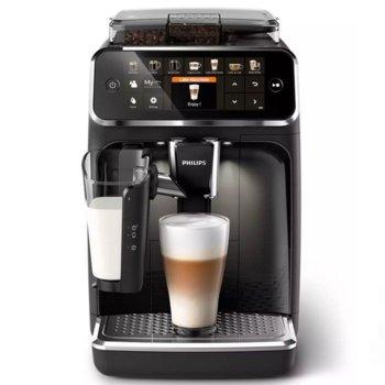 Кафемашина Philips EP5441/50, 1500W, 15 bar, LatteGo, черна image
