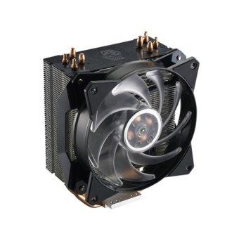 Охлаждане за процесор Cooler Master MasterAir MA410P, съвместимост с Intel LGA 2066/2011-3/2011/1366/1156/1155/1151/1150 & AMD AM4/AM3(+)/AM2(+)/FM2(+)/FM1, RGB подсветка с контролер image