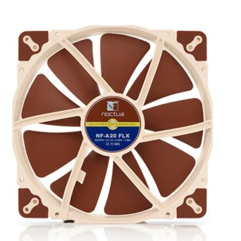 Вентилатор 200mm, Noctua NF-A20-FLX, 3-pin, 800 rpm  image