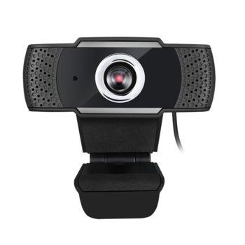 Уеб камера Adesso CyberTrack H4, Full HD(30fps), микрофон, USB, черна image