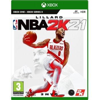 Игра за конзола NBA 2K21, за Xbox One image