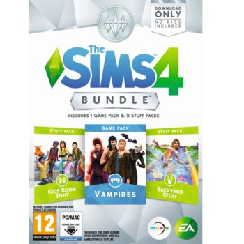 The Sims 4 Bundle Pack 4 : Code-In-A-Box product
