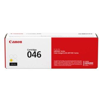 КАСЕТА ЗА Canon i-SENSYS LBP650 - Cartridge Yellow - 1247C002AA P№ CRG-046 - заб.: 2300k image