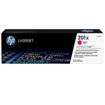 КАСЕТА ЗА HP Color LaserJet Pro M252 Printer series,MFP M277 series - Magenta 201X - № CF403X - заб.: 2300k image