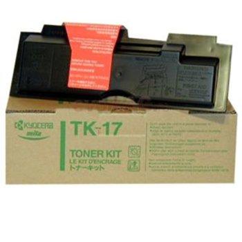 Тонер касета за Kyocera FS 1000/1000+/1010/1050 - Black - GraphicJet TK-17H - заб.: 6000k image