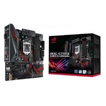 Дънна платка Asus ROG STRIX B365-G GAMING, B365, LGA1151, DDR4, PCI-E (CFX), 6x SATA 6Gb/s, 2x M.2 Socket, 4x USB 3.1 Gen1, mATX image