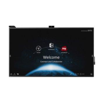 "Публичен дисплей ViewSonic IFP8670, 85.6"" (217.4cm) 4K/UHD Touchscreen, DisplayPort, HDMI, USB, LAN image"