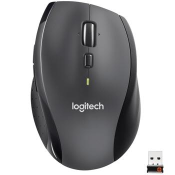 Мишка Logitech Marathon M705, лазерна(1000 dpi), безжична, черна image