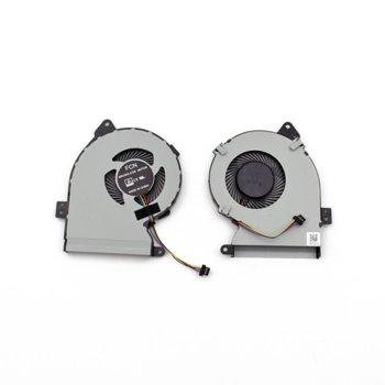 Вентилатор за лаптоп Asus, съвместим с Asus X540 X540SA X540LA X540LJ X540YA image