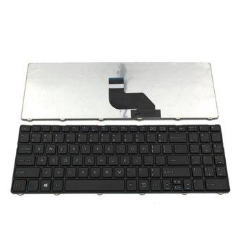 Клавиатура за лаптоп MSI, съвместима с модели CR640/CX640/MS-16Y1, US, с рамка, черни image