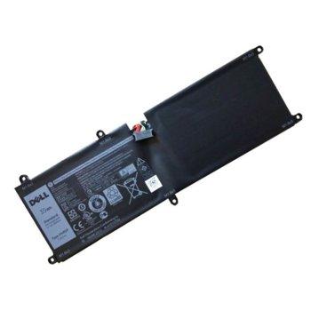 Батерия (оригинална) за лаптоп DELL Latitude, съвместима с модели 11 5175 / 5179 Tablet VHR5P, 7.6V 4600 mAh image
