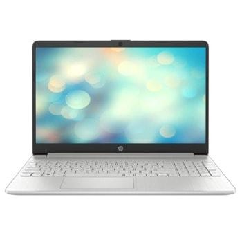 "Лаптоп HP 15s-eq1030nq (1K9W4EA)(сребрист), осемядрен AMD Ryzen 7 4700U 2.0/4.1GHz, 15.6"" (39.62 cm) Full HD IPS Anti-Glare Display, (HDMI), 8GB DDR4, 512GB SSD, 1x USB 3.1 Type-C, Free DOS image"