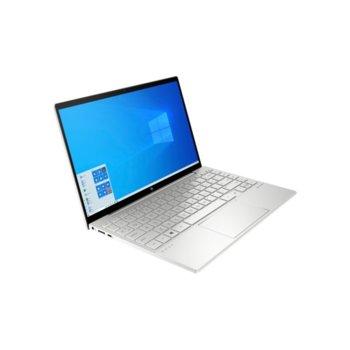 "Лаптоп HP Envy 13-ba0004nu (1N7N2EA), четириядрен Ice Lake Intel Core i5-1035G1 1.0/3.6 GHz, 13.3"" (33.78 cm) IPS Full HD BrightView Display, (HDMI), 8GB DDR4, 512GB SSD, 1x Thunderbolt 3, Windows 10 Home image"