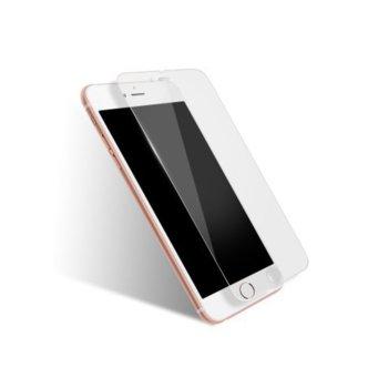Протектор от закалено стъкло/Tempered Glass/ DeTech за iPhone 7 Plus, прозрачен image