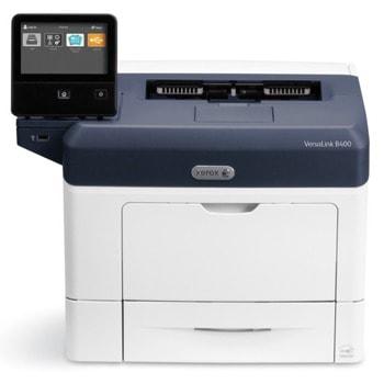 Лазерен принтер Xerox VersaLink B400, монохромен, 1200 x 1200 dpi, до 45стр/мин, Wi-Fi, Lan1000, USB 3.0, A4, двустранен печат image