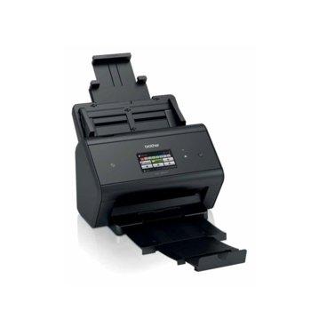 Скенер Brother ADS-3600W, 600 x 600 dpi, A4, двустранно сканиране, ADF, LAN 1000, Wi-Fi, USB image