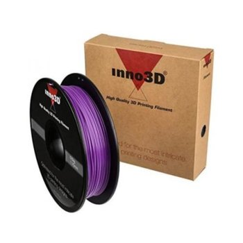Консуматив за 3D принтер Inno3D, ABS Purple, 1.75mm, лилав, 500g, пакет от 5 броя image