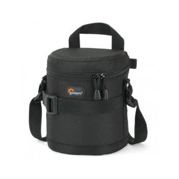 Калъф за обектив Lowepro Lens Case 11 x 14cm, за стандартни обективи близки до 24-70mm f/2.8, черен image