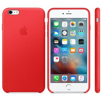 Apple 6 Plus / 6s Plus Leather Case Red MKXG2ZM/A product