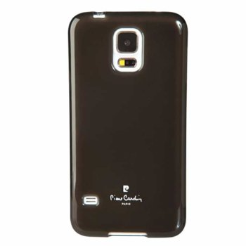 Pierre Cardin Silicon cover for Galaxy S5 Black product