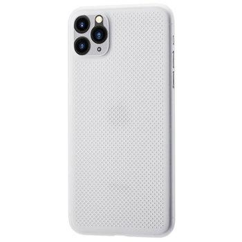 Калъф за Apple iPhone 11, страничен протектор с гръб, полипропиленов, Remax Breathable, дизайн очертаващ оригиналните извивки на устройството, бял image