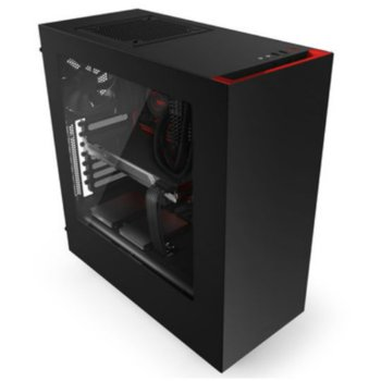 NZXT Source S340 Black/Red CA-S340MB-GR product