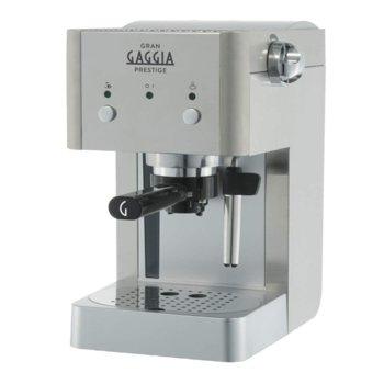 Ръчна еспресо машина GAGGIA Gran Prestige, 1025 W, 15 bar, Crema филтър, инокс image