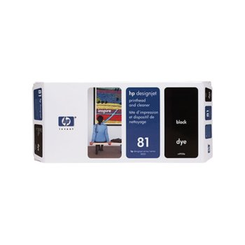 ГЛАВА HEWLETT PACKARD DesingnJet 5000/5000PS - Black head + kit - P№ C4950A - заб.: 680ml  image