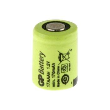 Акумулаторна батерия GP BATTERIES, 1/3AAA 1.2V 170mAh, NiMH, 1бр. GP BATTERIES image