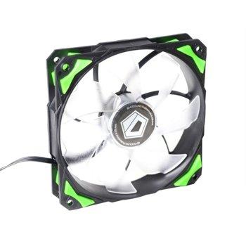 Вентилатор 120 mm ID-Cooling PL-12025-G, 4-пинов, 2200rpm image