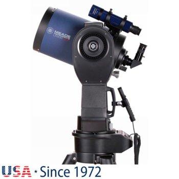 Телескоп Meade LX200 8 f/10 ACF, 8x50 mm с решетка с кръстче оптично увеличение, 203mm диаметър на лещата, 2000mm фокусно разстояние image