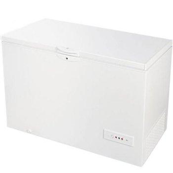 Фризер Indesit OS 1A 450H, клас A+, 438 л. общ обем, свободностоящ, 343 kWh/годишно, Функция бързо замразяване, размразяване система - Drain, Temperature control, бял image