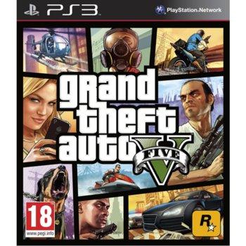 Игра за конзола GTA: Grand Theft Auto V, за PlayStation 3 image