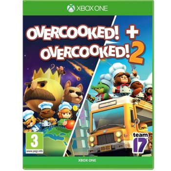 Игра за конзола Οvercooked! + Overcooked! 2 - Double Pack, за Xbox One image