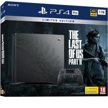Конзола PlayStation 4 Pro 1 TB - The Last of Us Part 2 Limited Edition, черна image