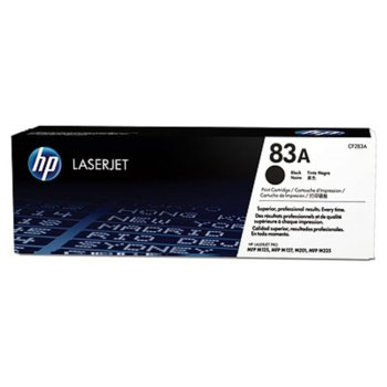 HP 83A Black LaserJet Toner Cartridge (CF283A) product