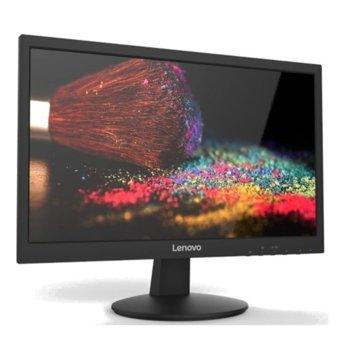 """Монитор Lenovo LI2215s (65CCAAC6EU), 21.5"""" (54.61 cm), W-LED панел, FHD, 5ms, 600:1, 200 cd/m2, D-Sub image"""