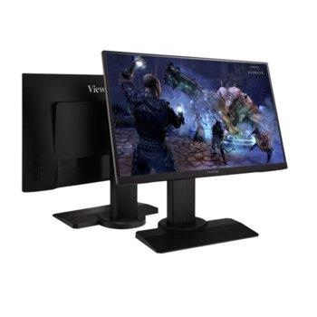 """Монитор ViewSonic XG2705, 27"""" (68.58 cm) IPS панел, 144Hz, Full HD, 1ms, 250 cd/m2, DisplayPort, HDMI image"""