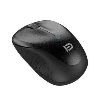 Мишка D V10B, безжична, Bluetooth, черна image