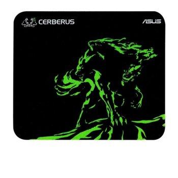 Подложка за мишка Asus Cerberus Mini, гейминг, 250 х 210 х 2, зелена image