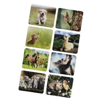 Подложка за мишка Hama Animal 54790, снимки на животни, 220 x 180 x 10 mm image