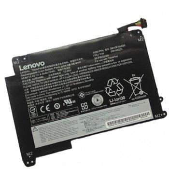 Батерия (оригинална) за лаптоп Lenovo, съвместима с ThinkPad P40 Yoga (20GR, 20GQ)/ S3 (20G0, 20G1)/Yoga 14 (20FY)/460 (20EM, 20EL), 3-cell, 11.4V, 3900mAh image