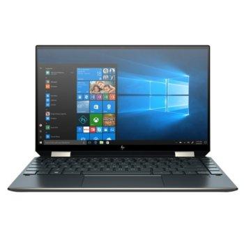 "Лаптоп HP Spectre x360 13-aw2000nu (386D6EA_1C1Y5AA)(син), с подарък USB хъб HP, четириядрен Tiger Lake Intel Core i7-1165G7 2.8/4.7 GHz, 13.3"" (33.78 cm) Full HD Touchscreen Anti-Glare Display, (HDMI), 16GB DDR4, 512GB SSD, 2x USB 3.1 Type-C, Window image"