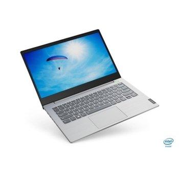 "Лаптоп Lenovo ThinkBook 14 (20SL0022BM_5WS0A23781), четириядрен Ice Lake Intel Core i5-1035G4 1.1/3.7 GHz, 14.0"" (35.56 cm) Full HD IPS Anti-Glare Display, (HDMI), 8GB DDR4, 256GB SSD, 1x USB 3.1 Type C, Windows 10 Pro image"