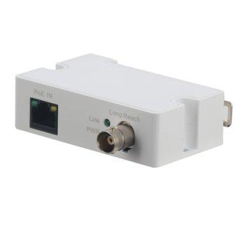PoE удължител Dahua LR1002-1EC, от RJ-45 към BNC, 53V, удължител чрез коаксиален кабел, 10/100Mbps, до 1000м image