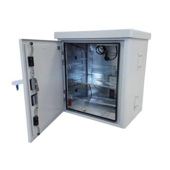 Комуникационен шкаф Mirsan MR.MOB04.03, за CCTV оборудване, 500 x 440 x 290 мм, двойни стени, охлаждащ модул, IP65 защита image