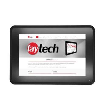 "Индустриален компютър Faytech FT101I5CAPOB, двуядрен Kaby Lake Intel Core i5-7300U 2.6/3.5 GHz, 10.1"" (25.65 cm) WXGA Anti-Glare Touchscreen Display, 8GB DDR4, 128GB SSD Industrial Grade, 2x USB 3.0, Linux image"